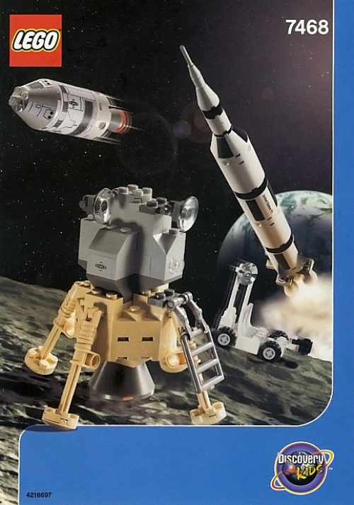 7468-1 Saturn V Moon Mission