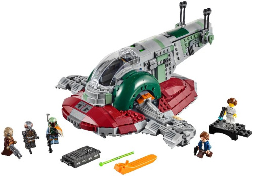 75243-1 Slave I - 20th Anniversary Edition