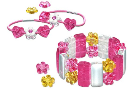 7554-1 Pearly Pink Bracelet & Bands