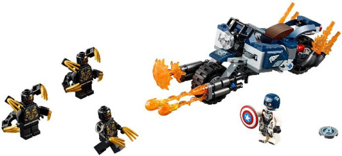 76123-1 Captain America: Outriders Attack
