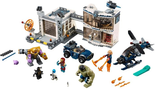 76131-1 Avengers Compound Battle