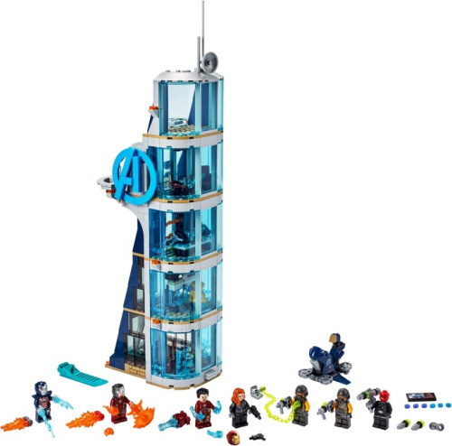 76166-1 Avengers Tower Battle