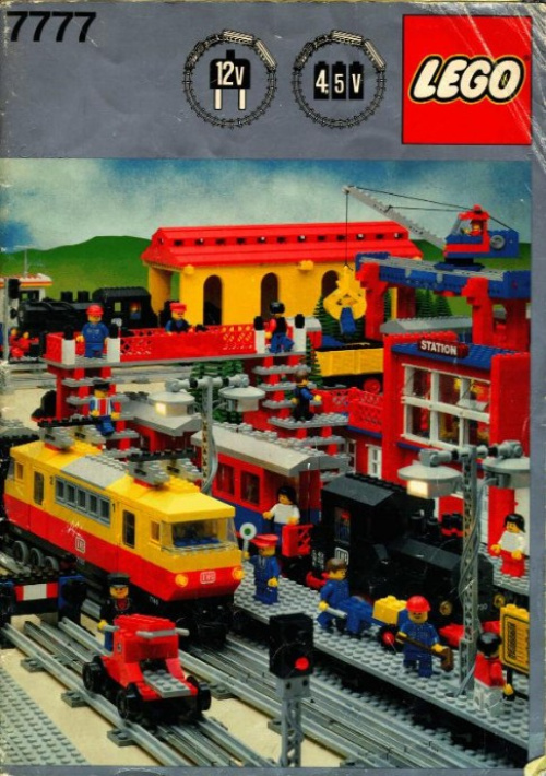 7777-1 Trains Ideas Book