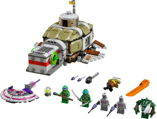 79121-1 Turtle Sub Undersea Chase