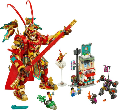 80012-1 Monkey King Warrior Mech