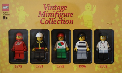 852331-1 Vintage Minifigure Collection Vol. 1