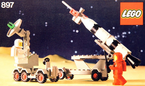 897-1 Mobile rocket launcher