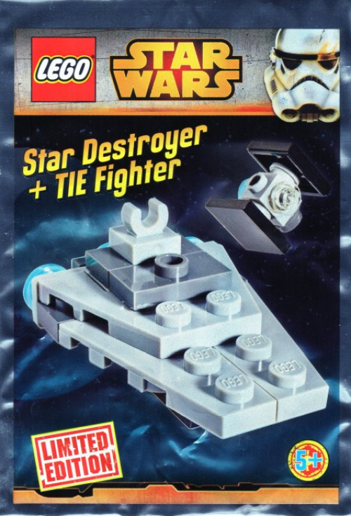 911510-1 Micro Star Destroyer and TIE Fighter