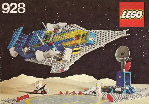 928-1 Space Cruiser And Moonbase
