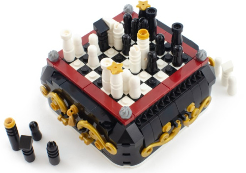 BL19013-1 Steampunk Mini Chess