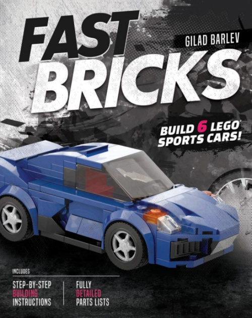 FASTBRICKS-1 Fast Bricks: Build 6 LEGO Sports Cars