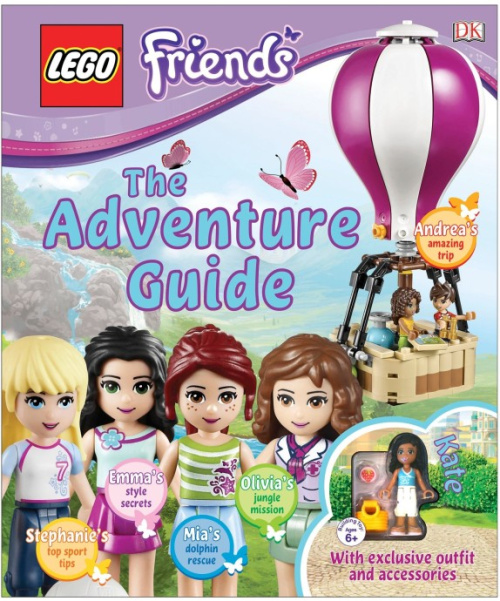 ISBN0241196574-1 LEGO Friends: The Adventure Guide