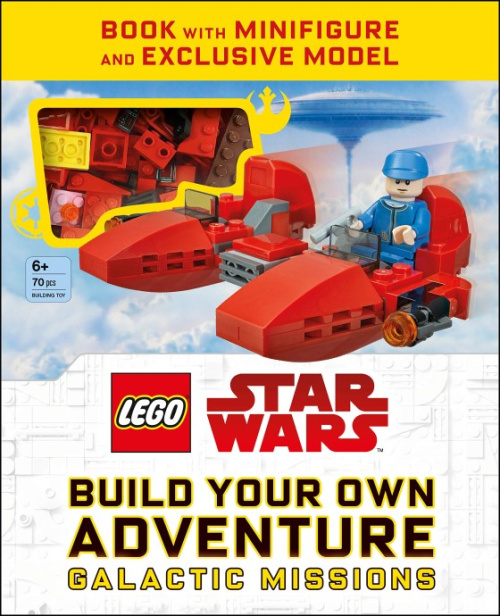ISBN0241357594-1 Star Wars Build Your Own Adventure: Galactic Missions