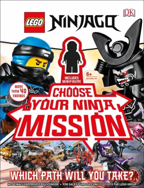 ISBN0241401275-1 NINJAGO Choose Your Ninja Mission: Which Path Will You Take?