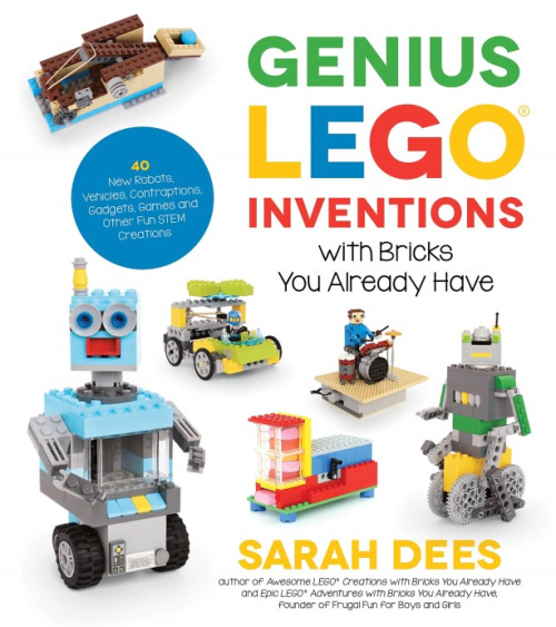 ISBN1624146783-1 Genius LEGO Inventions with Bricks You Already Have