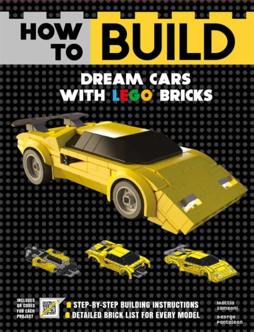 ISBN1684125391-1 How to Build Dream Cars with LEGO Bricks