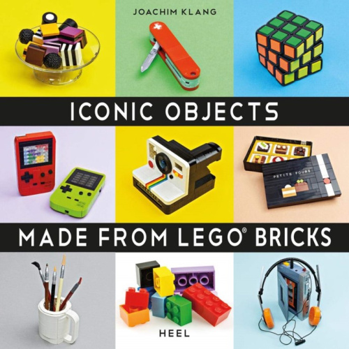 ISBN3966640031-1 Iconic Objects Made From LEGO Bricks