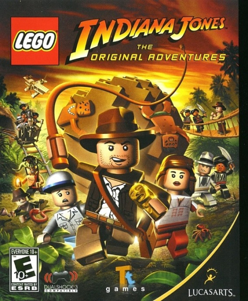 LIJPS3-1 LEGO Indiana Jones: The Original Adventures