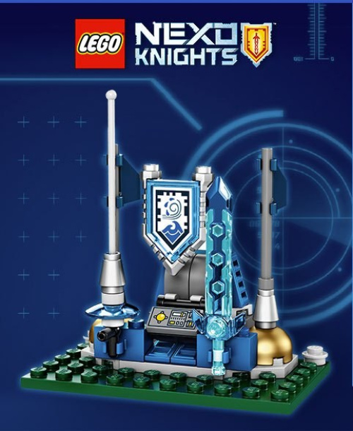 TRUNEXO-1 Nexo Knights Shield Dock