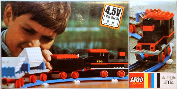 120-1 Complete Freight Train Set with Tipper Trucks