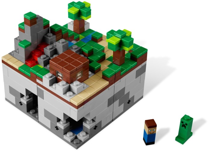 21102-1 Minecraft Micro World: The Forest