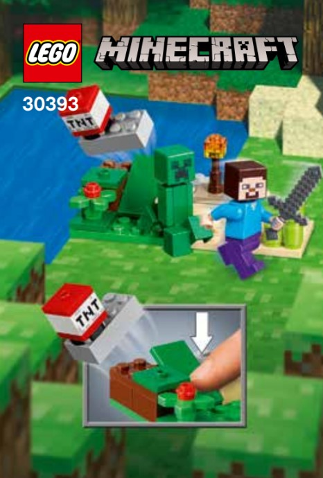 30393-1 Steve and Creeper Set