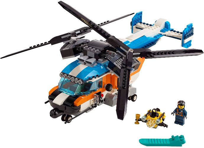 31096-1 Twin-Rotor Helicopter