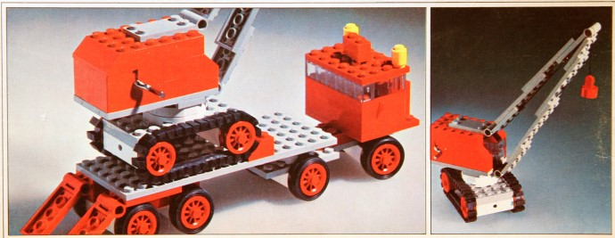 337-2 Truck with Crane and Caterpillar Track