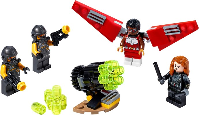 40418-1 Falcon & Black Widow Team-Up