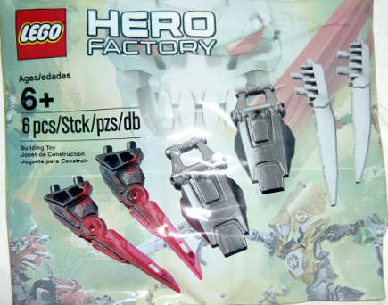 4648933-1 Hero Factory Accessory Pack