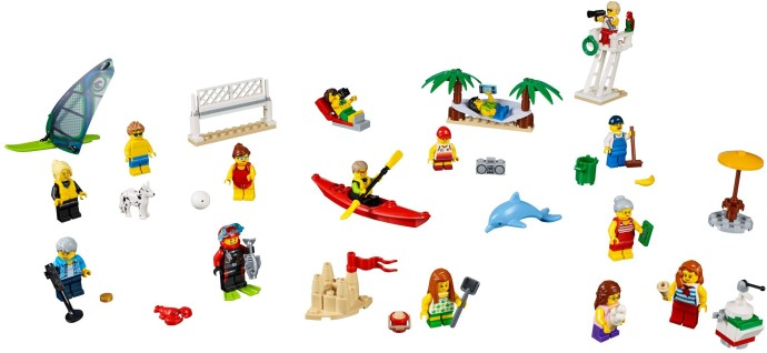 60153-1 People Pack - Fun at the Beach