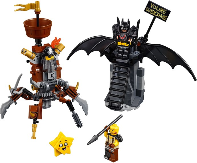 70836-1 Battle-Ready Batman and MetalBeard