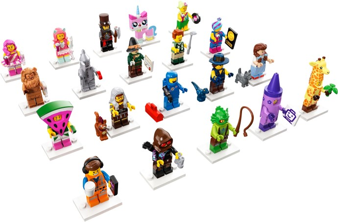 71023-21 LEGO Minifigures - The LEGO Movie 2: The Second Part - Complete