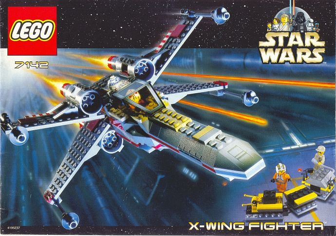 7142-1 X-wing Fighter