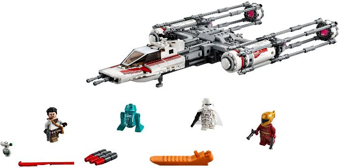 75249-1 Resistance Y-wing Starfighter
