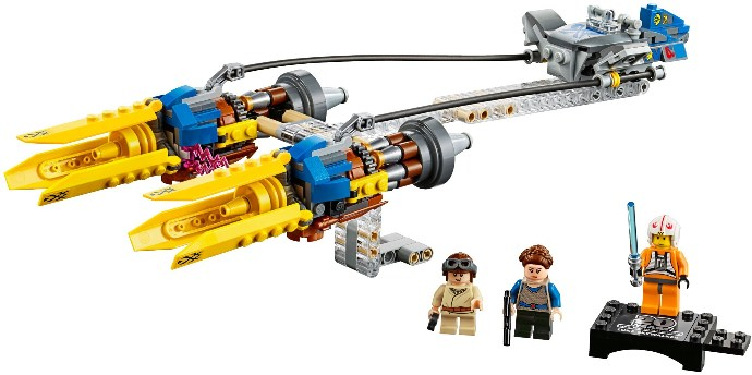 75258-1 Anakin's Podracer – 20th Anniversary Edition