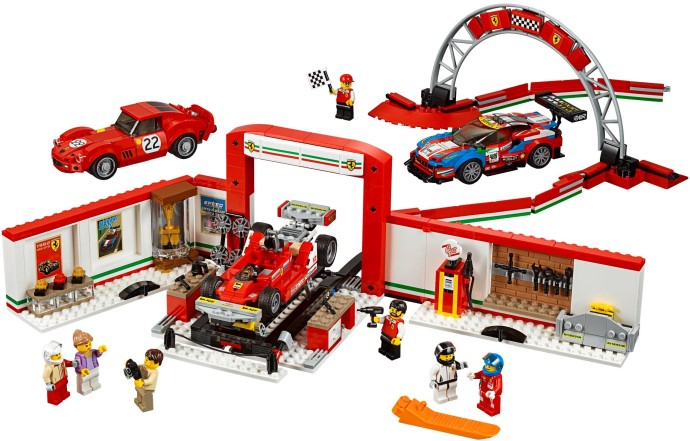 75889-1 Ferrari Ultimate Garage
