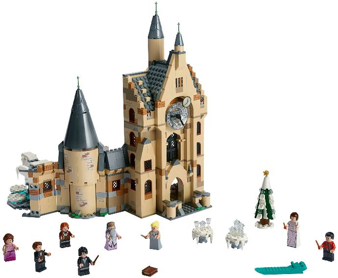 75948-1 Hogwarts Clock Tower - Brick Insights