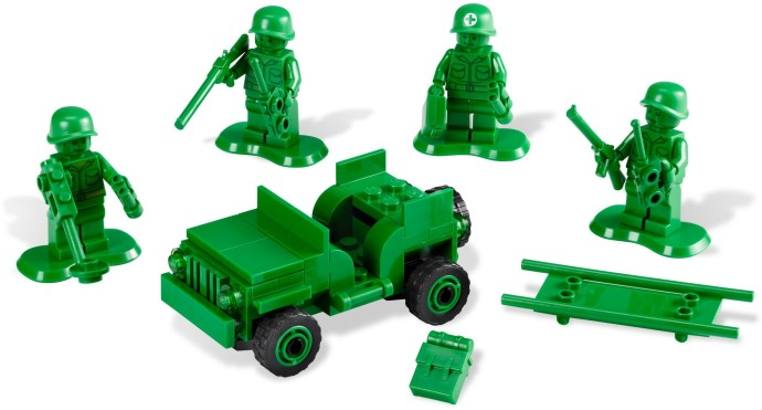 7595-1 Army Men on Patrol