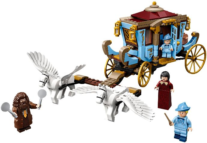 75958-1 Beauxbatons' Carriage: Arrival at Hogwarts