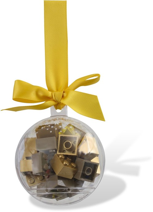 853345-1 Holiday Bauble with Gold Bricks