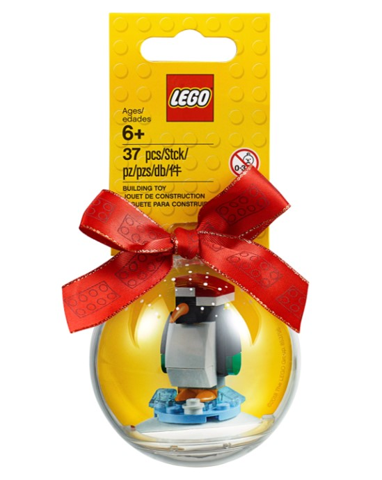 853796-1 Penguin Holiday Ornament
