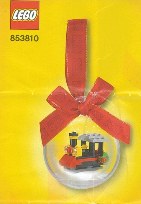 853810-1 Train Holiday Ornament