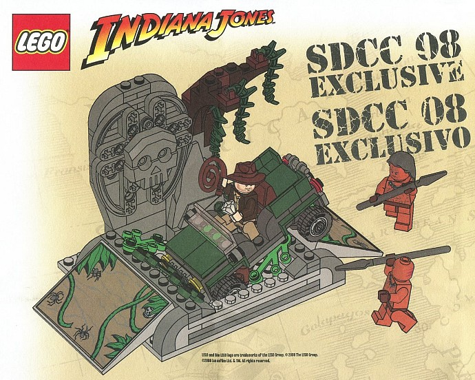 COMCON002-1 BrickMaster (SDCC 2008 exclusive)